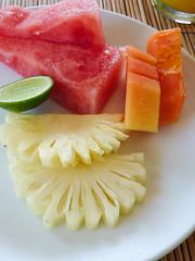 fruit platter breakfast, 69/365