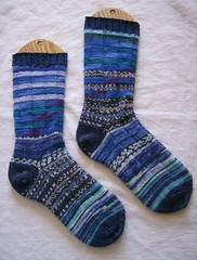 Blue Party Socks