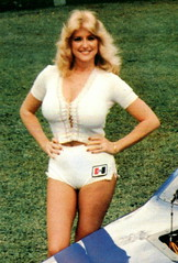 Linda Vaughn-Great Shorts! (torinodave72) Tags: girl june golden nikki phillips f1 linda nascar firebird marsha miss vaughn pure bennett cochran shifter hurst nhra usac ahra