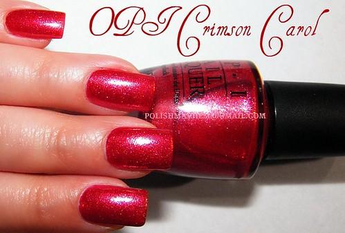 OPI Crimson Carol
