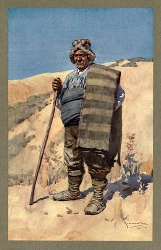 008-Un pastor de La Mancha-An artista in Spain 1914- Michael Arthur C.