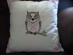 Owl Pillow (theurbancowgirl) Tags: stitching sublime