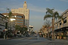 Santa Monica Boulevard (Santa Monica USA) (Meteorry) Tags: california road ca city usa america la losangeles route66 december boulevard crossing unitedstates santamonica unitedstatesofamerica intersection 2009 sr2 meteorry stateroute