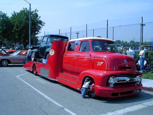 1953 Ford COE Crew Cab Auto Hauler