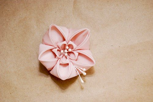Pink Ume Kanzashi