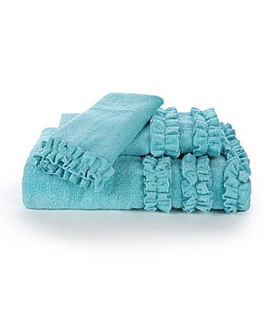 ruffle towels