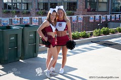 2213856_228765 (gamecocklove) Tags: south carolina cheerleader gamecock