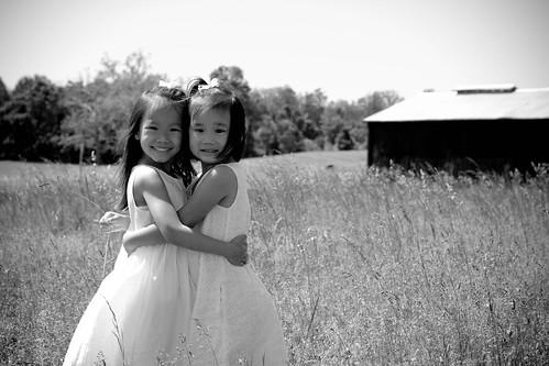 Sisters in B&W
