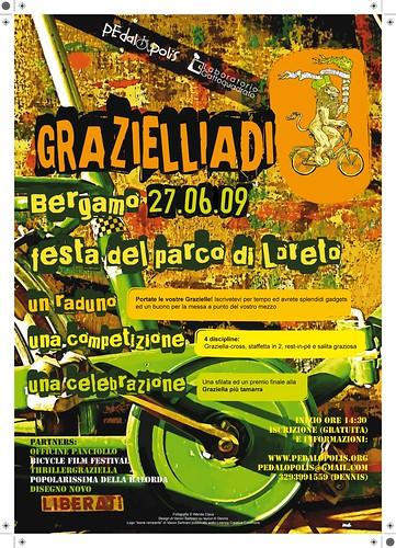 locandina ufficiale grazielliadi a bergamo 2009