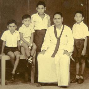 The Late  Hon. D.A. Rajapaksa Has Gifted  Four  Worthy Sons to Save the Nation ( Chamal Rajapaksa , Mahinada Rajapaksa, Gotabhaya Rajapaksa  and Basil Rajapaksa )