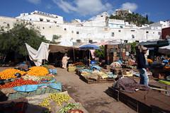 Market Day In Moulay Idriss (MykReeve) Tags: people orange vegetables fruit market morocco oranges moulayidriss المملكةالمغربية المغرب مولايإدريس geo:lat=34056682 geo:lon=5523183