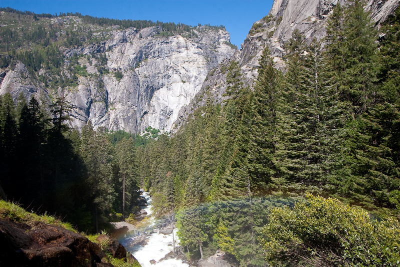 Mist Trail near Vernal Falls
