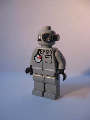 Lego working bot custom minifig