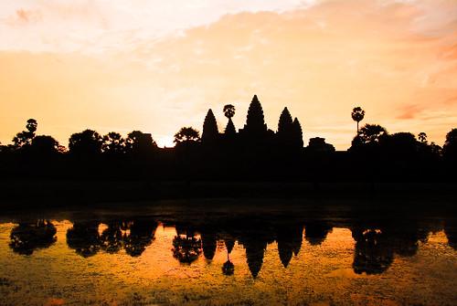 The Angkor Sunrise