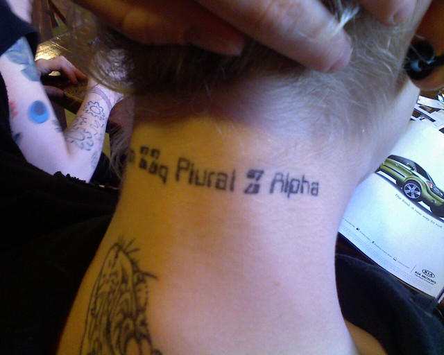 Zed zed plural zed alpha tattoo. View 2