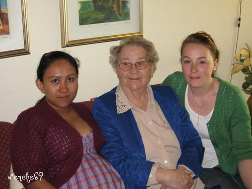 Svigermor 84 år