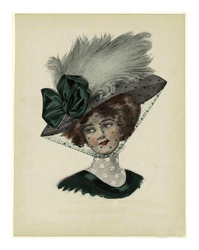 022- Sombrero de mujer 1909