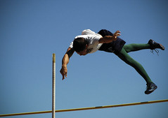 there is no turning back now (S G's Warning:) Tags: new mexico track albuquerque pole unknown vault meet athelete