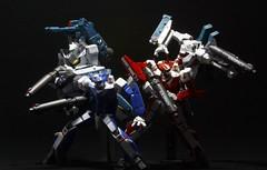 Skull Squadron (Armand Gonzales) Tags: max valkyrie macross robotech milia jenius miriya revoltech