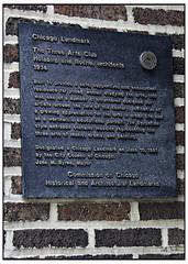 The Three Arts Club Chicago Landmark (swanksalot) Tags: chicago sign architecture architectural 1914 byzantine chicagoist holabirdroche threeartsclub swanksalot sethanderson janembyrne
