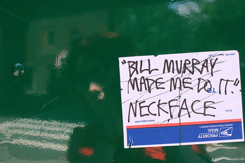 bill murray made me do it!