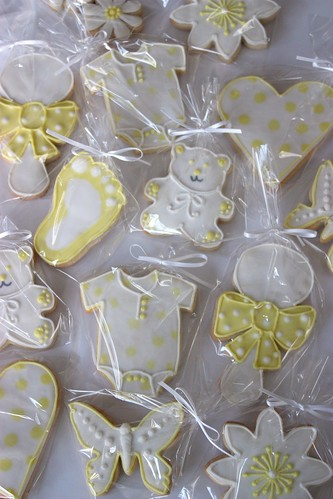 Baby Shower Favour Cookies