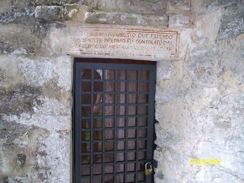 Porta d'ingresso Santuario superiore - Santuario dello Speco