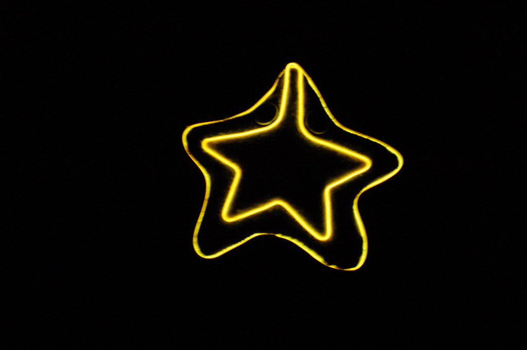 Glow in the dark starfish