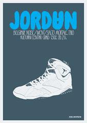Jordan Gig Poster (FuckNewRave) Tags: paris woo went jordan belgrade noise belgradenoise supersizeshe