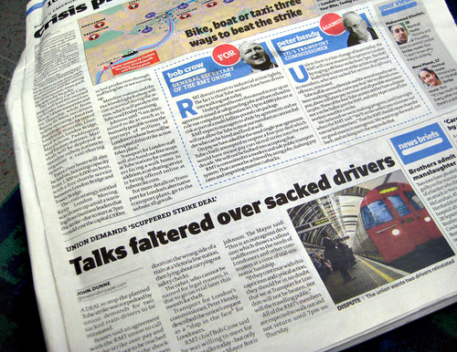 Tube Strike over sacked drivers