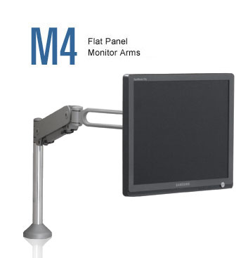 flat panel monitor arms - humanscale