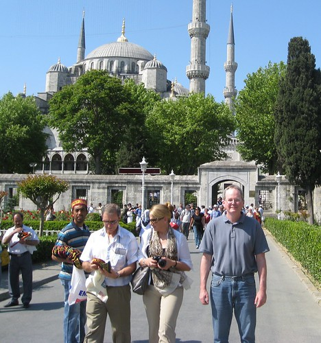 Me at Sultan Ahmed Mosque