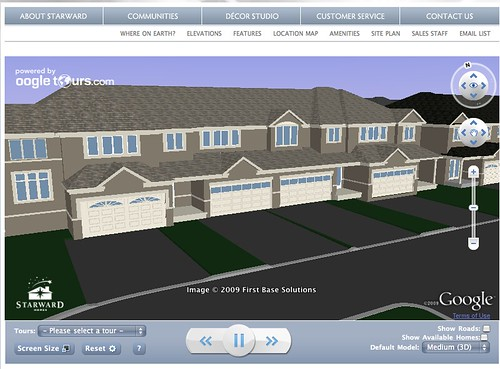 Selling homes through Google Earth?