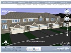 Selling homes through Google Earth?