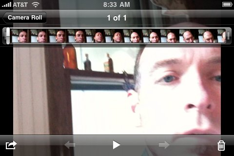 Editing video on the iphone!