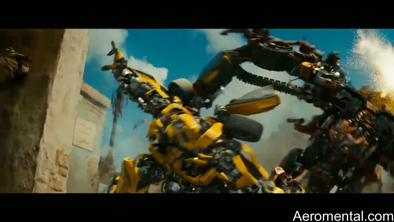 Transformers 2 Bumblebee Rampage