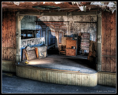 Theatrical Dream (Cygnus~X1 - Visions by Sorenson) Tags: old summer usa classic canon rebel opera theater fb cityhall stage performance delphi indiana historical restoration operahouse 2009 hdr props preservation xsi carrollcounty efs1855mmf3556is craigsorenson delphipreservationsociety assionruffing lathroperuffing 20090626000518z