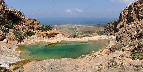 Homhil plateau watering hole