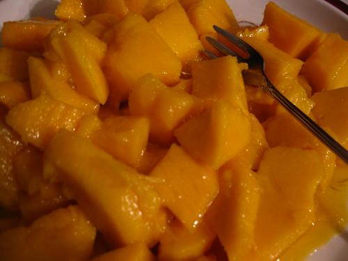 Yummy Chunks of Mango