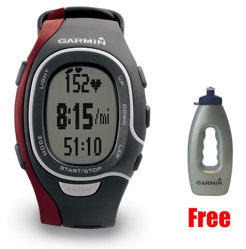 NEW Garmin FR60 Mens Red Sports Watch (Heart Rate)