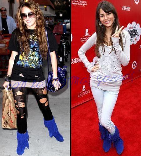 miley cyrus victoria justiceVictoria Justice And Miley Cyrus Manip