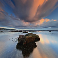 Long Reef Manipulate (Tim Donnelly (TimboDon)) Tags: ocean sea sunrise rocks australia nsw longreef cokin
