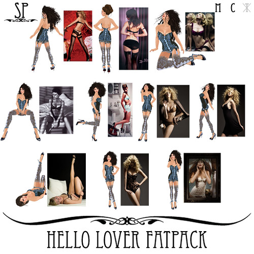Hello Lover Poses Fatpack