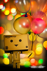 UP! (achew *Bokehmon*) Tags: smile up movie 50mm colorful bokeh f14 sony air ballon great cartoon disney pixar animation alpha float a300 danbo danboard ダンボー danbowallpaper danboardwallpaper