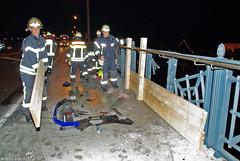 Unfall Theodor-Heuss-Brücke 20.07.09