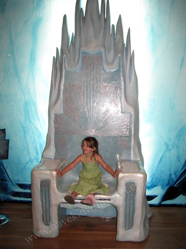 Sitting on the White Witch's Throne