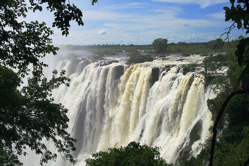 Намибия сверху вниз, или путешествие с оптимистом-реаниматологом, часть 1: Водопад Виктория