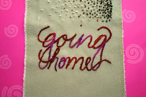 Band Sampler: Chain Stitch