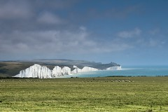 Seven Sisters (Visible Darkness) Tags: danger sussex chalk 7 cliffs filter edge sevensisters seaford nd8
