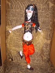 Bessie (koko kreepies) Tags: dolls bellydancer dancer creepy belly tummy artdoll uglydoll creepydoll kreepy bellypicture arabiandancer kokokreepies